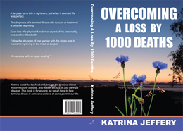 "Cover of the book ""Overcoming a loss by 1000 deaths"""