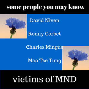 Famous people who have died from ALS/MND